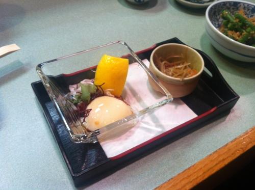 Yoshi's onsen tamago