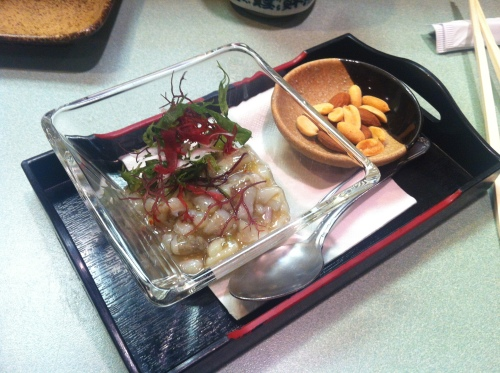 Yoshi's tako wasabi