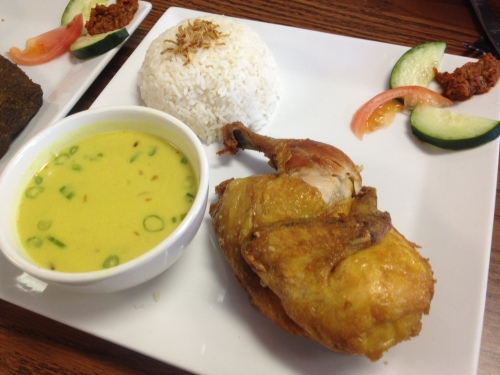 indonesian fried chicken