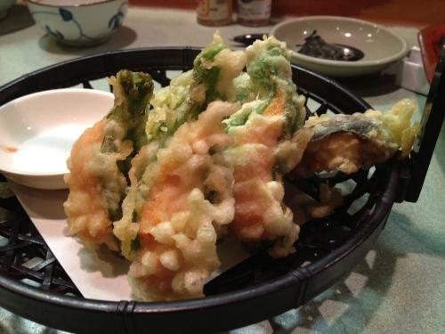 Yoshi's shishito shrimp tempura