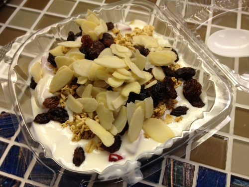 mexican fruit and yogurt