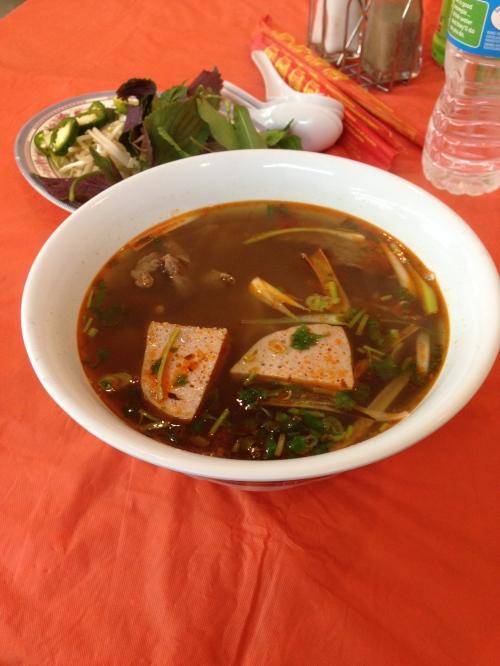 vietnamese spicy beef soup
